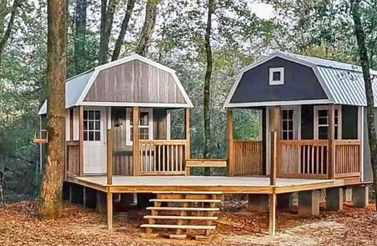 The 'We-Shed' Is a Dual Shed For Him and Her