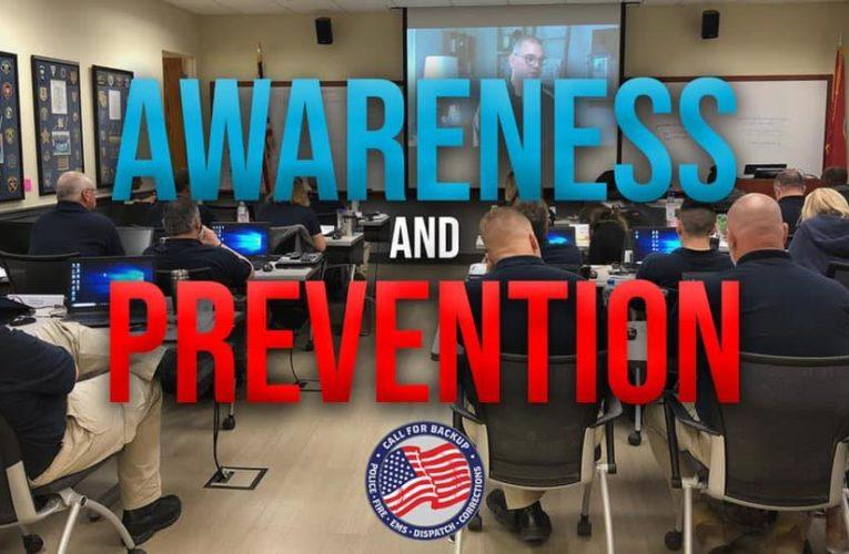 Preventing Police Suicide .